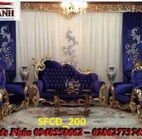 16 Sofa tân cổ điển hoàng gia - đẳng cấp phòng khách của biệt thự, chung cư cao cấp