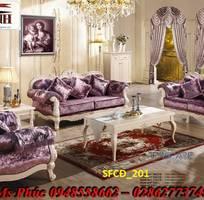 17 Sofa tân cổ điển hoàng gia - đẳng cấp phòng khách của biệt thự, chung cư cao cấp