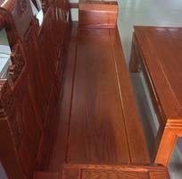 1 Bộ bàn ghế âu á hộp - gỗ sồi nga - Loại 2m2 và 2m4
