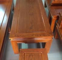 2 Bộ bàn ghế âu á hộp - gỗ sồi nga - Loại 2m2 và 2m4