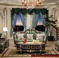 8 Sofa tân cổ điển giá rẻ, sofa cổ điển tphcm, giá ghế sofa đơn cổ điển Châu Âu tại Đà Lạt