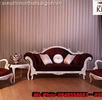 13 Sofa tân cổ điển giá rẻ, sofa cổ điển tphcm, giá ghế sofa đơn cổ điển Châu Âu tại Đà Lạt