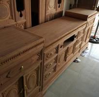 2 Kệ tivi mõ lõm gỗ hương đá