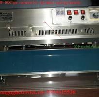 Đóng gói sản phẩm bằng máy hàn liên tục FRM-980W / máy hàn túi nhựa liên tục có in hạn sử dụng