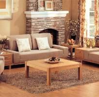 15 Sofa gỗ sồi , sofa gỗ nỉ