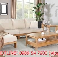 19 Sofa gỗ sồi , sofa gỗ nỉ