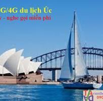 1 Sim du lịch - Sim 4G Úc Glocal - Sim nước ngoài Australia