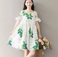 3 Mình cần mua váy bầu dễ thương trẻ trung đi chơi