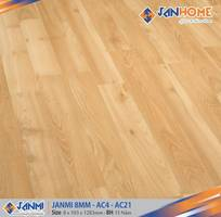 1 Sàn gỗ Janmi 8mm sản xuất tại Malaysia