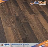 15 Sàn gỗ Janmi 8mm sản xuất tại Malaysia