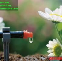 Béc tưới nhỏ giọt điều chỉnh lưu lượng nước, béc tưới gốc, bộ tưới nhỏ giọt Hàn Quốc,công  nghệ  tướ