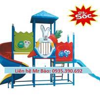 5 Cầu trượt liên hoàn đồ chơi mầm non cho bé rongbay.com