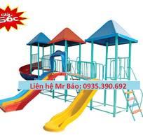 12 Cầu trượt liên hoàn đồ chơi mầm non cho bé rongbay.com