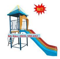 13 Cầu trượt liên hoàn đồ chơi mầm non cho bé rongbay.com