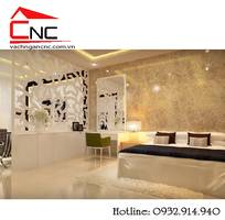 4 Vách ngăn phòng ngủ và vách phòng khách cnc đẹp