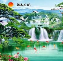 1 Gạch tranh phong cảnh 3d