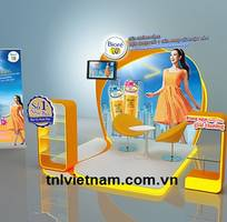 1 Thiết kế - Thi công Booth Activation l Booth quảng cáo - TNL