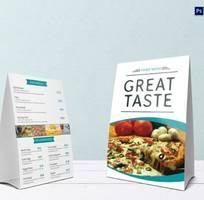 Thiết kế menu chuyên nghiệp chi phí tốt