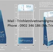 1 Kệ sắt quảng cáo l Kệ sắt trưng bày sản phẩm l Công Ty Quảng Cáo TNL