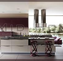 1 Tủ bếp gỗ cao cấp Kiến Mộc trong không gian Bếp Việt, phong cách và sang trọng