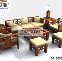 17 Sofa gỗ phòng khách. Sofa gỗ giá rẻ Vũng Tàu, Nha Trang