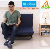 3 Giường gấp 3 khúc có thể chuyển đổi thành ghế sofa   MÃ SP: GB75