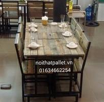 16 Bàn ghế nhà hàng quán ăn giá rẻ . tại hà nội