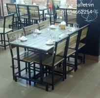 17 Bàn ghế nhà hàng quán ăn giá rẻ . tại hà nội