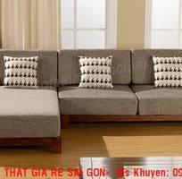 6 Sofa gỗ sồi.  Sofa gỗ góc L giá rẻ
