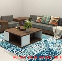 12 Sofa gỗ sồi.  Sofa gỗ góc L giá rẻ