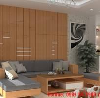 19 Sofa gỗ sồi.  Sofa gỗ góc L giá rẻ