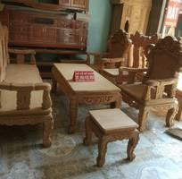 7 Bộ bàn ghế kiểu Louis Pháp gỗ gõ đỏ