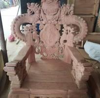 4 Bộ bàn ghế giả cổ nghê khuỳnh gỗ hương đá
