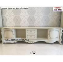 7 Kệ tivi cổ điển châu âu - xưởng làm hàng đặt tủ kệ tivi tân cổ điển đẹp sang chảnh