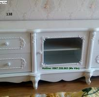 9 Kệ tivi cổ điển châu âu - xưởng làm hàng đặt tủ kệ tivi tân cổ điển đẹp sang chảnh