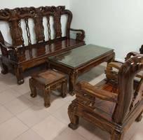 7 Bộ bàn ghế giả cổ minh quốc đào gỗ tràm Tay 10 và Tay 12