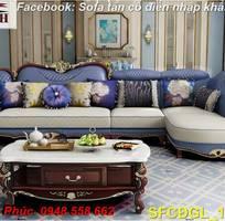 3 Sofa tân cổ điển góc chữ L đẹp, bán giá tại xưởng - Nội thất Kim Anh bảo hành 4 năm