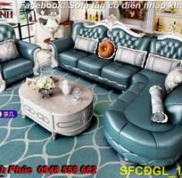 9 Sofa tân cổ điển góc chữ L đẹp, bán giá tại xưởng - Nội thất Kim Anh bảo hành 4 năm