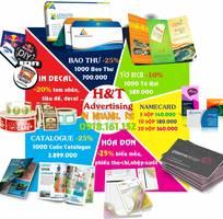 5 In ấn1000 cuốn Catalogue,  3.899.000  1000 tờ rơi, A4, 4 màu, 2 mặt 589.000...Ship Fre