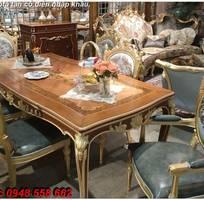 11 10 mẫu bàn ghế ăn tân cổ điển đẹp cho phòng ăn cao cấp, sang trọng phong cách châu âu