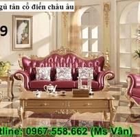 13 Sofa tân cổ điển   bàn ghế 100 gỗ tự nhiên châu âu cao cấp chất lượng