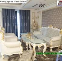 14 Sofa tân cổ điển   bàn ghế 100 gỗ tự nhiên châu âu cao cấp chất lượng