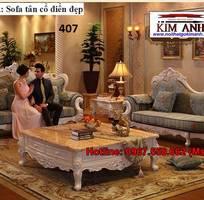 15 Sofa tân cổ điển   bàn ghế 100 gỗ tự nhiên châu âu cao cấp chất lượng
