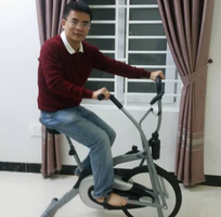 3 Xe đạp tập thể dục liên hoàn giảm cân nhanh tại gia đình