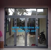 Cửa nhôm Xingfa Kính cường lực DCWINDOW