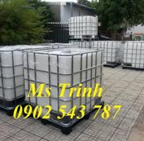 1 Bán bồn nhựa IBC 1000 lít, tank nhựa IBC 1000 nhựa, tank nhựa đựng hóa chất công nghiệp