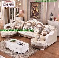 5 Bàn Ghế Sofa Góc Phong Cách Gỗ Cổ Điển Đẹp Đẳng Cấp
