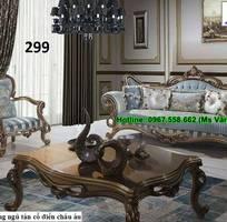 13 Bàn Ghế Sofa Góc Phong Cách Gỗ Cổ Điển Đẹp Đẳng Cấp