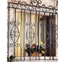 7 Cửa sổ sắt đẹp, cửa sổ bảo vệ, cửa sổ sắt mỹ thuật