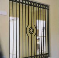 4 Mẫu cửa sổ sắt đơn giản, cửa sổ sắt phong cách hiện đại